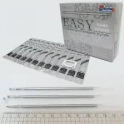 """Ст-нь. гел. """"Easy gel""""  0.5mm (ЕА666) сереб."""