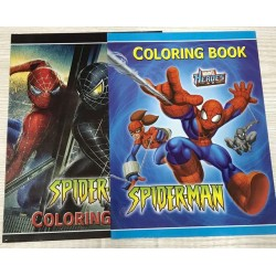 Раскраска с наклейками № 10877 Spider-men