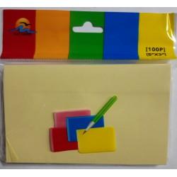 Блок клейкий 76х127 №3103 желтый/12уп,360ящ
