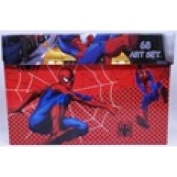 Набор детск.творч.(68предм) чемодан № SP-68 Spider-men