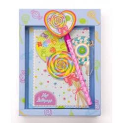 Блокн. на зам. в подарочн.упаковке   YW-877  WX (с запахом)