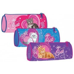 "Пенал  Willy WL7132  (сумочка- тубус) ""Princess Cat"""