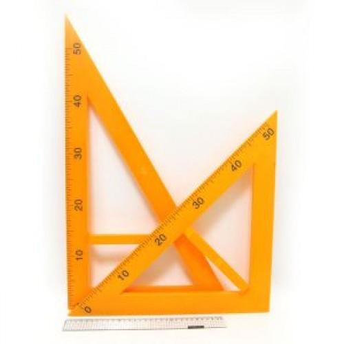 """Набор треугольников для доски №5965 """"ГИГАНТ"""" (2предм,запакованы отдельно)"""