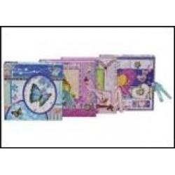Блокн. на зам. в подарочн.упаковке   (48К) 0948-01-02 Мишки / Бабочки
