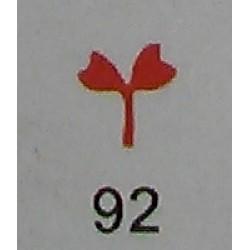 Дырокол фигурный для детск. твор. JF-823C № 94\92 Цветок (стр 11-12)