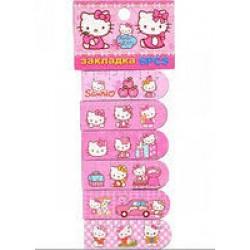 """Закладка с магнитом JQ-850H/ 10183-5 / 11432-3""""Hello Kitty"""" ( цена за 6шт)"""