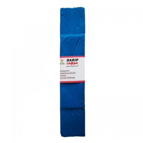Гофро-бумага 60% 14CZ-018 50*200см, 10шт/уп. синий