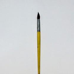 Кисть Пони  № 9 круглая №2109-BPR Neo Line (дер. корпус) в инд.уп/ 50 блок