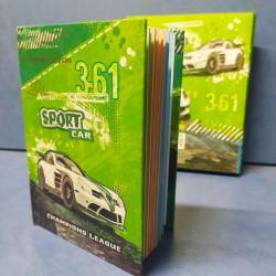 """Блокн.  A-6 № 6042   """"Sport car"""" 60л в тонкой коробке (13*11)"""