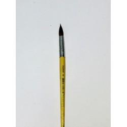 Кисть Пони  № 8 круглая №2108-BPR Neo Line (дер. корпус) в инд.уп