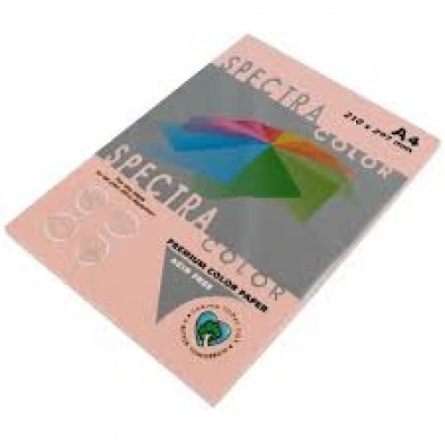Бумага A4 Spectra ПАСТЕЛЬ 100л/80гр №150 ( PEACH ) Персиковый