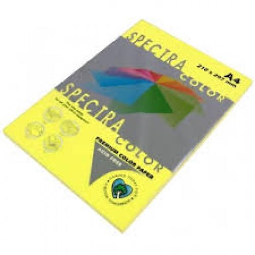 Бумага A4 Spectra НЕОН 100л/80гр №363 ( YELLOW ) Желтый