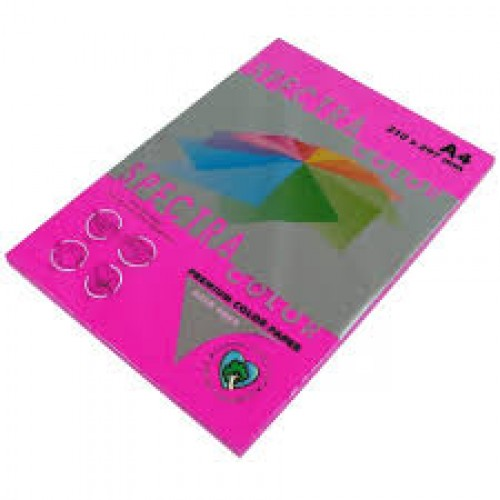 Бумага A4 Spectra НЕОН 100л/80гр №350 ( RED ) Фуксия
