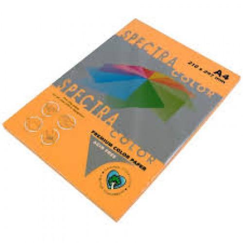 Бумага A4 Spectra НЕОН 100л/80гр №371 ( ORANGE ) Куркума