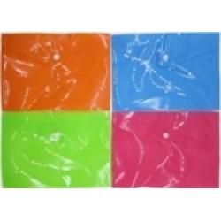 Папка-конверт А5 №210-А5 цветная,160мк,17*24см,4цв.