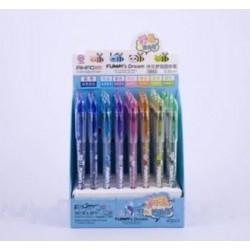 Ручка   шариковая  АН- 5892 (0,5mm. 7цв. на подставке ) Funny^s Dream/40уп,160бл,960ящ