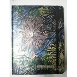 "Щоденник в тверд. на резин.    B5    № 23710  ""Цветы"""