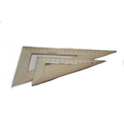 Треугольник  дерев. 15 см.(60*30*90) арт. ТД-15-603090