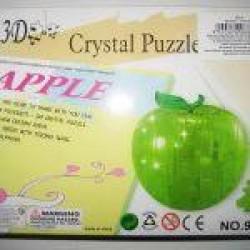 """Пазлы 3D кристал.№ YT212879 """"Яблоко"""""""