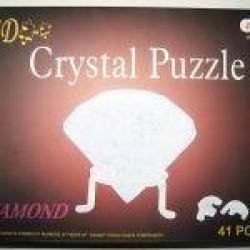 """Пазлы 3D кристал.№ YT218370 """"Бриллиант"""""""