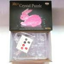 "Пазлы 3D кристал.№ YT218366 ""Зайчик"""