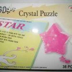 """Пазлы 3D кристал.№ YT212880 """"Звезда"""""""