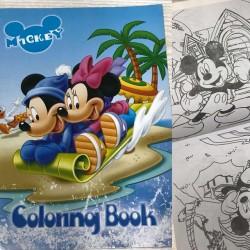 Раскраска с наклейками № 10890 Mickey Mouse