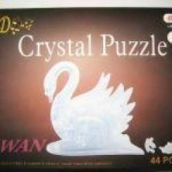 """Пазлы 3D кристал.№ YT212882 """"Лебедь"""""""