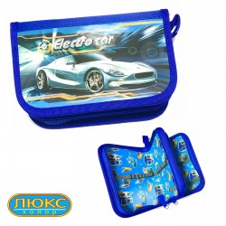 "Пенал Kidis 14026 (2 отдел ) ""Electro Car"""