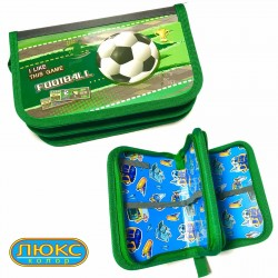 """Пенал Kidis 14028 (2 отдел ) """"Goal"""""""