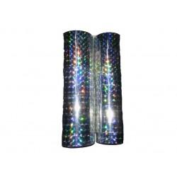 "Скотч голографич. 012-10-S ""Silver"" (12мм*10m) 12 шт"