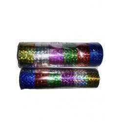 "Скотч голографич. 012-10-C ""Mix of colors"" 6цв (12мм*10m) 12 шт"