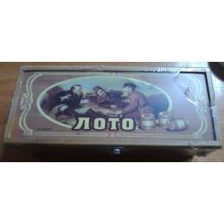 """Игра """"Лото """" настольная №G04007  (деревян коробка)"""