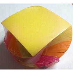 Блок клейкий 76х76  (веер 5цв) А2/2уп, 96ящ