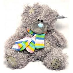 Игрушка №0909-18 Мишка (плюшевый) с камнем в носу 20см / 3вида
