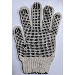 Перчатки №3 х\б серые 450г /12уп, 600ящ