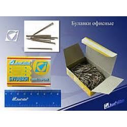 "Булавка ""Офис"" ZH-211 (28мм/ 50гр) никель (типа гвоздик)"