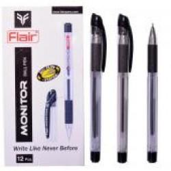"""Ручка шар.""""Flair """" Monitor (830) черн. / 12уп,144бл"""