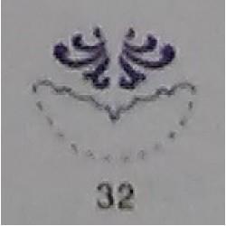 Дырокол фигурный для детск. твор. CD-99MA №32 Узор (УГЛОВОЙ)  стр 17