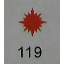 Дырокол фигурный для детск. твор. JF-823C № 119 Солнце (стр 11-12)