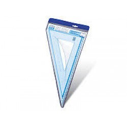 Треугольник пласт. №SX-0014 (30см-45*)