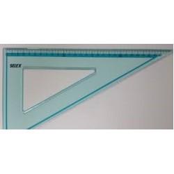 Треугольник пласт. 30см-60* №SX-0015