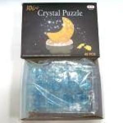 """Пазлы 3D кристал.№ YT218725 """"Луна""""  (со светодиодом)"""