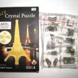 """Пазлы 3D кристал.№ YT220923 """"Эйфелева башня"""""""