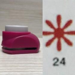 Дырокол фигурный для детск. твор. JF-828 №24 Цветочек