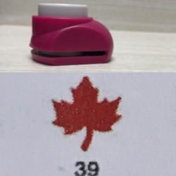 Дырокол фигурный для детск. твор. JF-828 №39 Кленовый лист