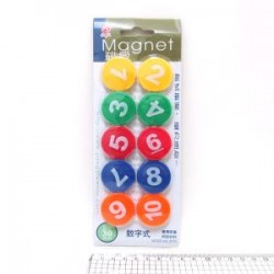 "Магнит 1567DSCN ""Цифры 1-10"" 10шт, 3см"