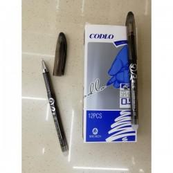 Ручка стираемая гель с рез. SA6008 черная термостатная 300м, 0,5 мм