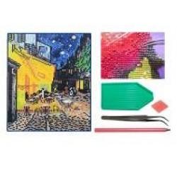 Мозаїка алмазна 5D № F1603  Ван Гог 25 * 29см