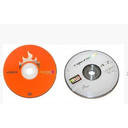 "DVD+RW Videx/Esperenza""  4.7GB 4x (Cake10) / 10уп"
